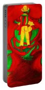 African Dancers Portable Battery Charger