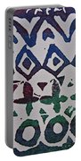 African Design  Portable Battery Charger