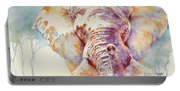 African Elephant _ The Governor Portable Battery Charger