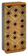 African Kuba Design Portable Battery Charger