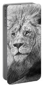African Nobility - Lion Portable Battery Charger