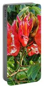 African Tulip Flower #2 Portable Battery Charger
