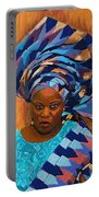 African Woman 5 Portable Battery Charger