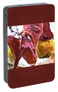 After Rain - Fall In Mendocino Orchard Portable Battery Charger
