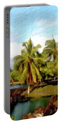 Afternoon At Mauna Lani Hawaii Portable Battery Charger