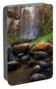 Afternoon Delight At Upper Bridal Veil Falls Portable Battery Charger