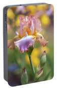 Afternoon Delight. The Beauty Of Irises Portable Battery Charger