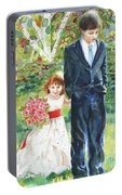 Afternoon Wedding Portable Battery Charger