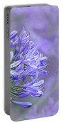 Agapantha Lilac Pastel By Kaye Menner Portable Battery Charger
