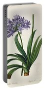 Agapanthus Umbrellatus Portable Battery Charger
