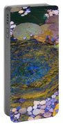 Agape Gardens Autumn Waterfeature Portable Battery Charger
