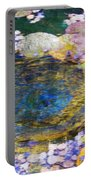 Agape Gardens Autumn Waterfeature II Portable Battery Charger