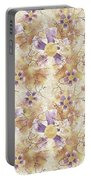 Aged Flower Clown Pattern Portable Battery Charger