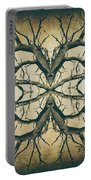 Aged Sepia Tree Dual Portable Battery Charger