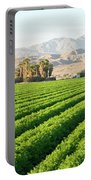 Agriculture In The Desert Portable Battery Charger