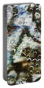 Air Bubbles Underwater - Abstract Portable Battery Charger