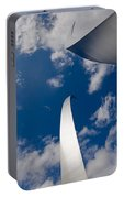 Air Force Memorial Portable Battery Charger