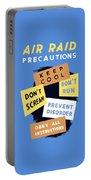 Air Raid Precautions - Ww2 Portable Battery Charger