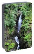 Aira Force Waterfall, Aira Beck, Ullswater, Lake District Portable Battery Charger
