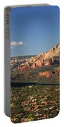 Airport Mesa Overlook At Sunset Portable Battery Charger