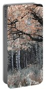 Airy Autumn In Woods Portable Battery Charger