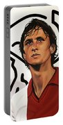 Ajax Amsterdam Painting Portable Battery Charger