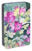 Ajisai Color-magenta Portable Battery Charger