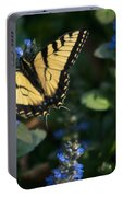 Ajuga With Tiger Butterfly Portable Battery Charger