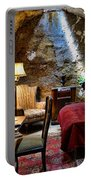 Al Capone's Cell - Scarface - Eastern State Penitentiary Portable Battery Charger