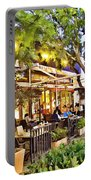 Al Fresco Dining Portable Battery Charger by Chuck Staley