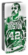 Al Horford Boston Celtics Pixel Art Portable Battery Charger