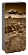 Alabama Hills California B W Portable Battery Charger