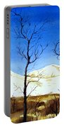 Alaska Blue Sky Day  Portable Battery Charger