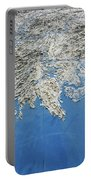 Alaska Map Wall Art Portable Battery Charger