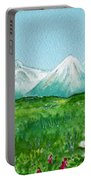 Alaska Splendor Portable Battery Charger