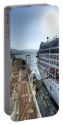 Alaskan Cruise Ship Berthed In Vancouver Portable Battery Charger