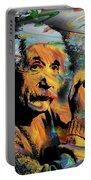 Albert Einstein - By Prar Portable Battery Charger