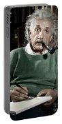 Albert Einstein Portable Battery Charger