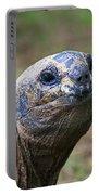 Aldabra Giant Tortoise's Portrait Portable Battery Charger