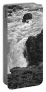 Aldeyjarfoss Waterfall Iceland 3381 Portable Battery Charger