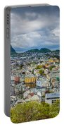Alesund Norway Cityscape Portable Battery Charger