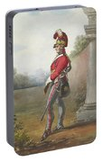 Alexander Ivanovitch Sauerweid 1783-1844 British Army. Private, Life Guards. About 1816 Portable Battery Charger