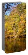 Alexandria Creek In The Fall Portable Battery Charger