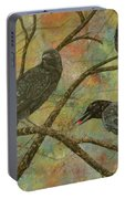 Alex's Crows Portable Battery Charger
