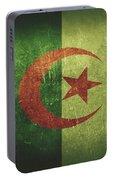 Algeria Distressed Flag Dehner Portable Battery Charger