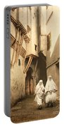 Algeria: Street Scene, C1899 Portable Battery Charger