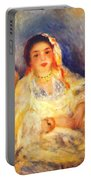 Algerian Woman Seated 1882 Portable Battery Charger