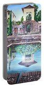 Alhambra Spain Reflections Portable Battery Charger