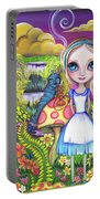 Alice And Absolem Portable Battery Charger