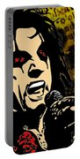 Alice Cooper Illustrated Portable Battery Charger